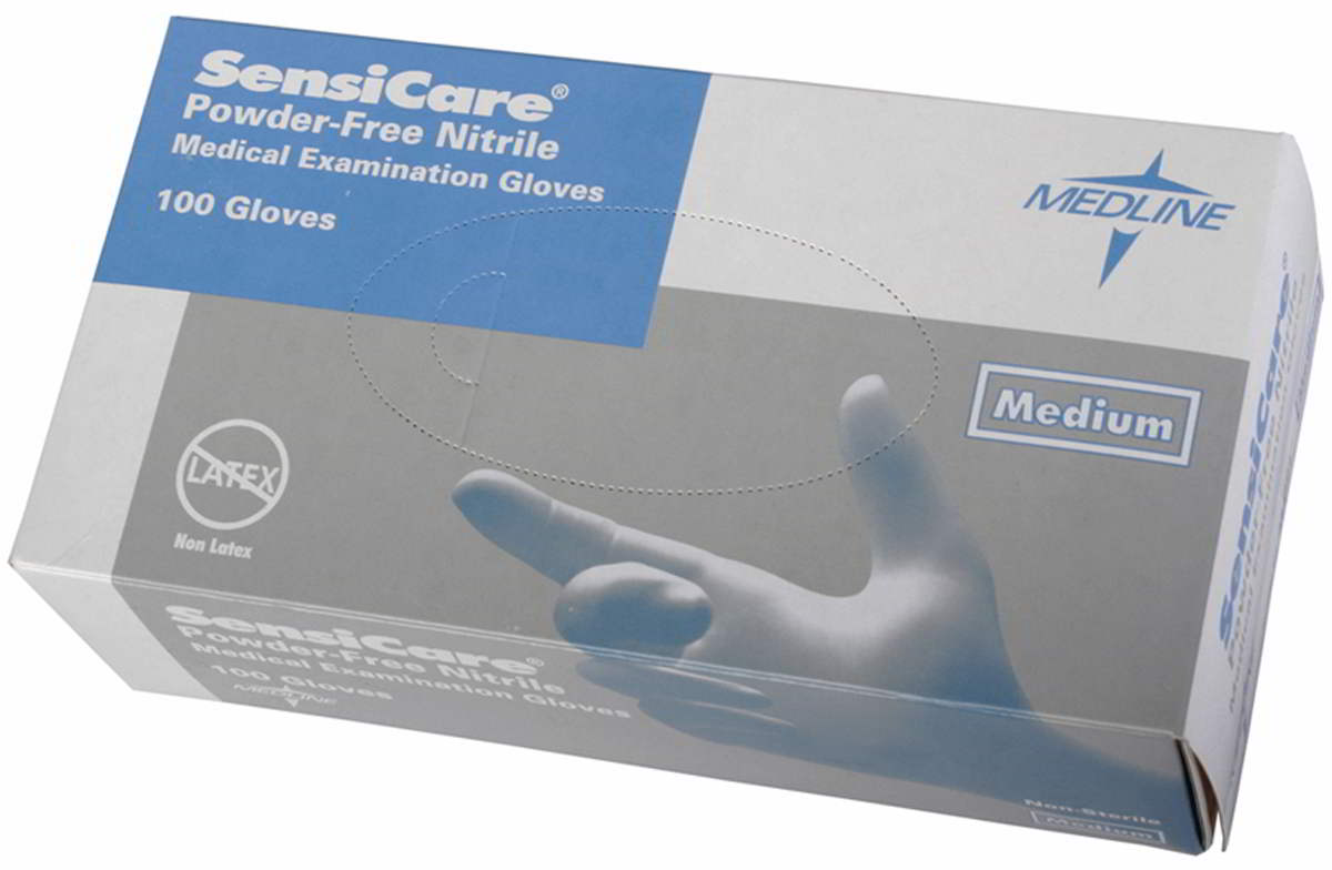 SensiCare Nitrile Exam Gloves