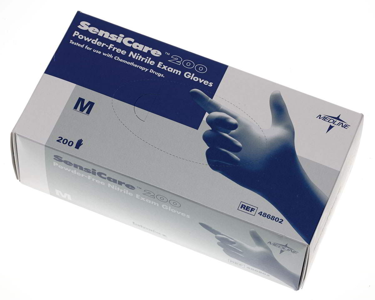 SensiCare 200 Nitrile Exam Gloves