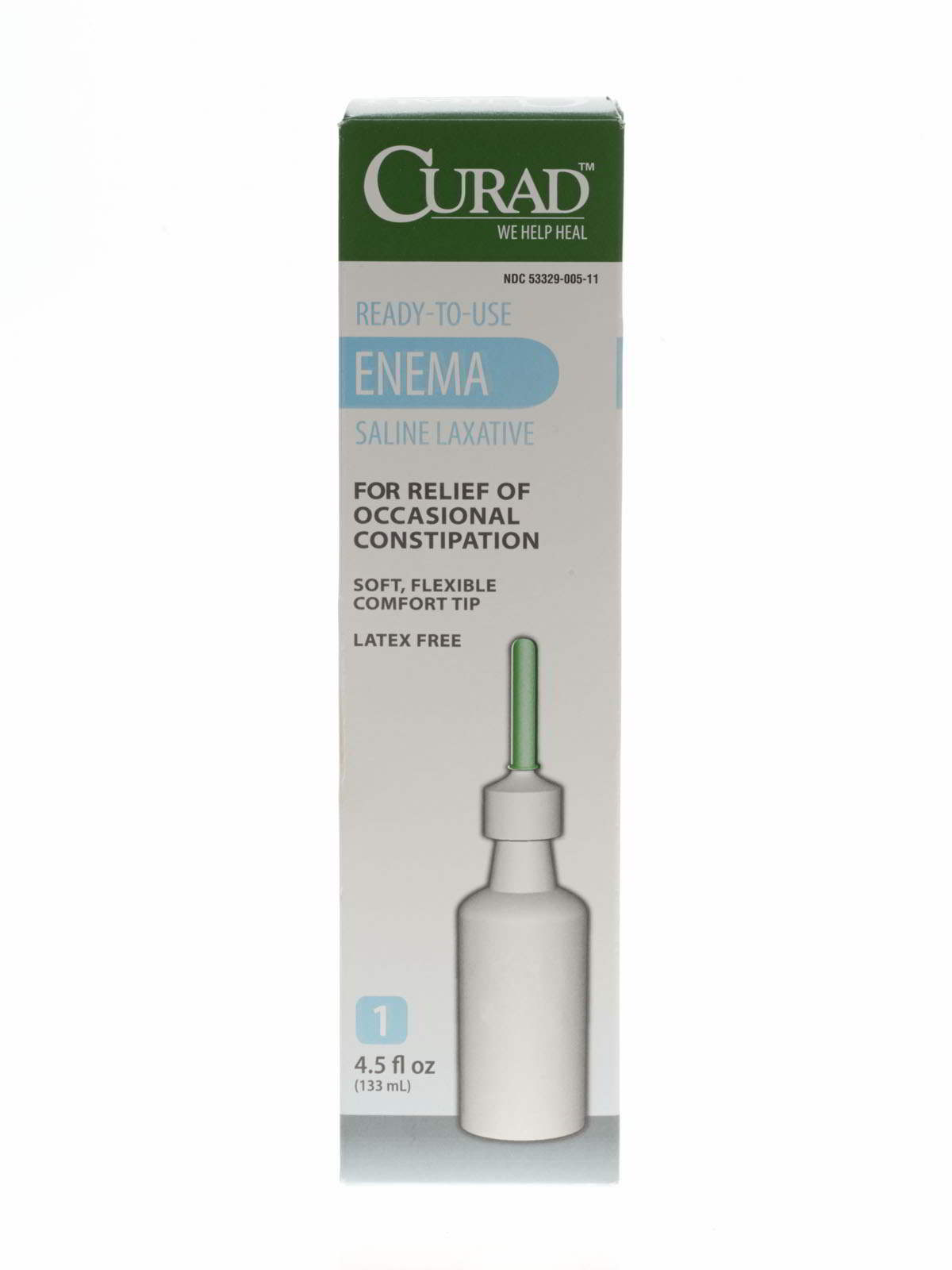 CURAD Disposable Saline Enema