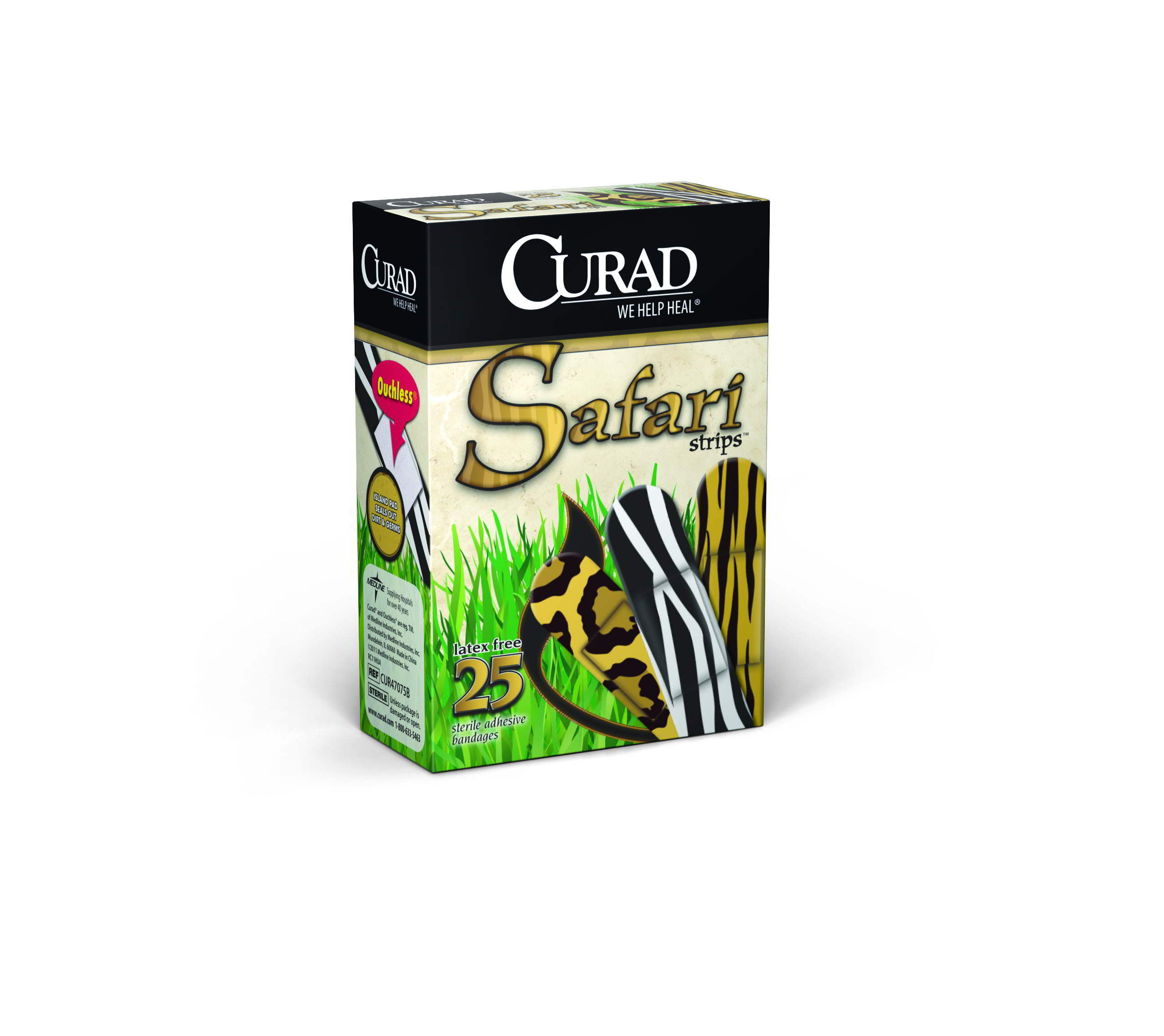 CURAD Safari Strips