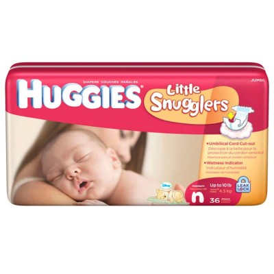 Huggies Newborn Diapers by Kimberly-Clark Corporation