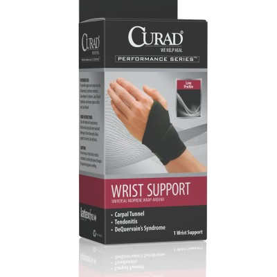 CURAD Universal Wrap-Around Wrist Supports