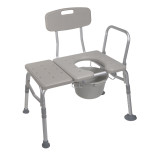 K.D. Combination Padded Transfer Bench/Commode