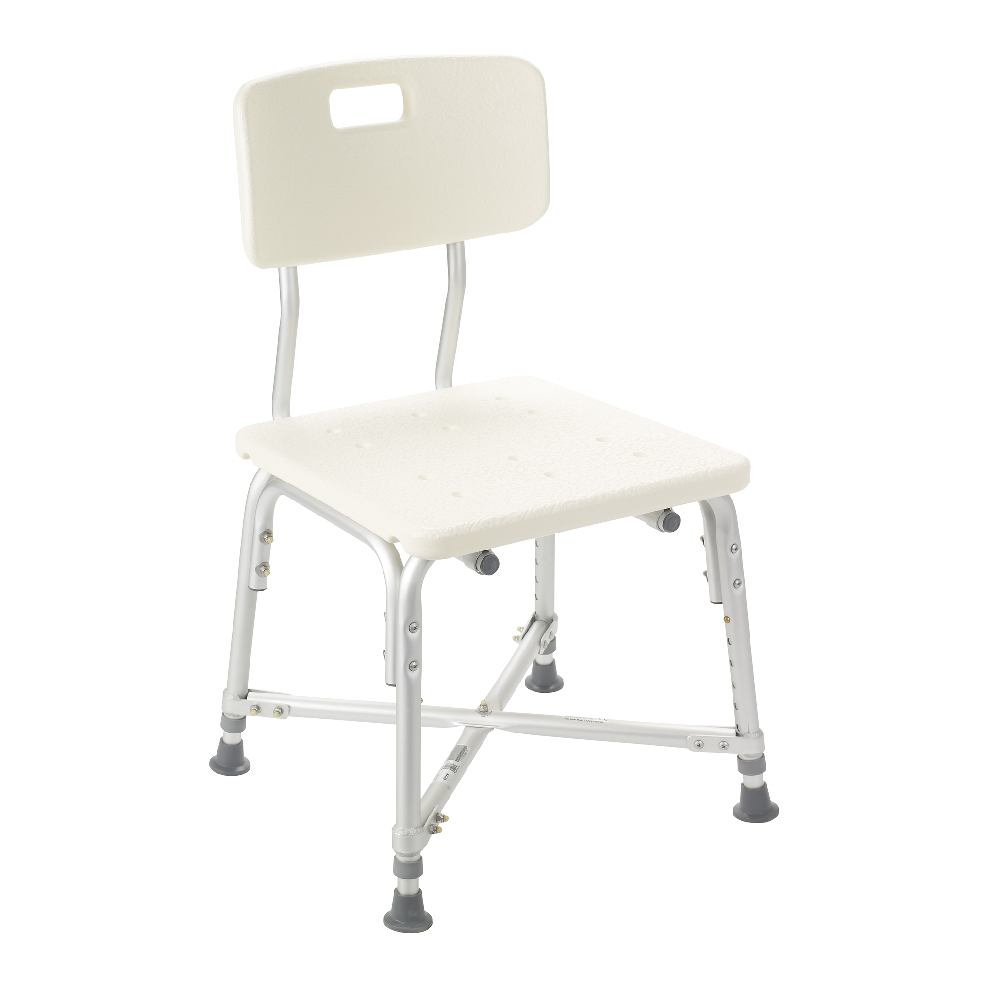Heavy Duty Bariatric Bath Bench with Back @MedicalGrace.com